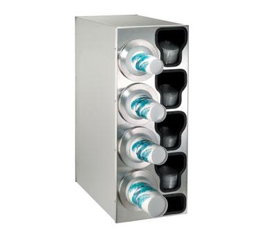 Dispense-Rite BFL-C-4LSS cup dispensers, countertop