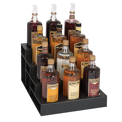 Dispense-Rite CTBH-12BT liquor bottle display, countertop