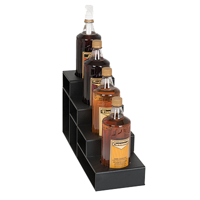 Dispense-Rite CTBH-4BT liquor bottle display, countertop