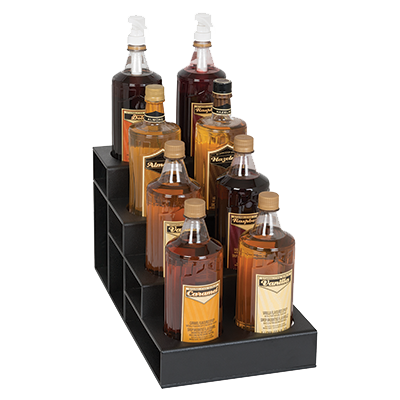 Dispense-Rite CTBH-8BT liquor bottle display, countertop