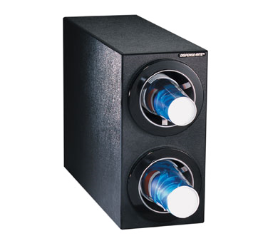 Dispense-Rite CTC-S-2BT cup dispensers, countertop