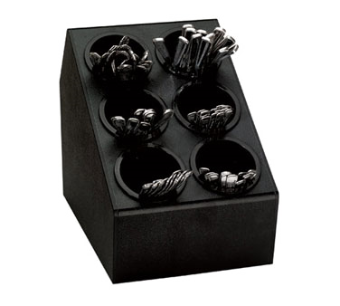 Dispense-Rite CTSH-6BT flatware holder, dispenser