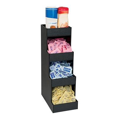 Dispense-Rite CTVH-4BT condiment caddy, countertop organizer
