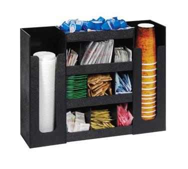 Dispense-Rite DLCO-5BT condiment caddy, countertop organizer