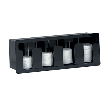 Dispense-Rite FML-4 lid dispenser, in-counter