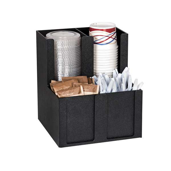 Dispense-Rite MCD-4BT condiment caddy, countertop organizer