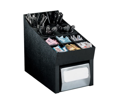 Dispense-Rite NLO-SWNH condiment caddy, countertop organizer