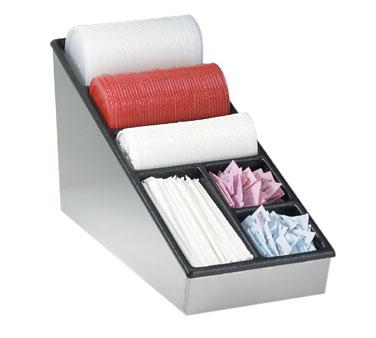 Dispense-Rite NLS-1 condiment caddy, countertop organizer