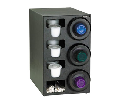 Dispense-Rite SLR-C-3RBT cup dispensers, countertop