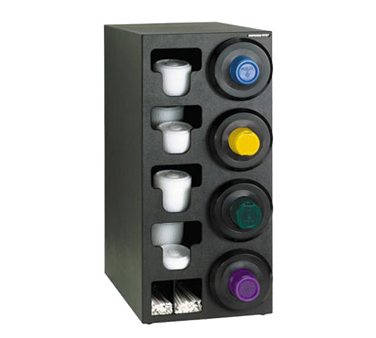 Dispense-Rite SLR-C-4RBT cup dispensers, countertop