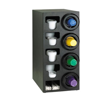 Dispense-Rite STL-C-4RBT cup dispensers, countertop
