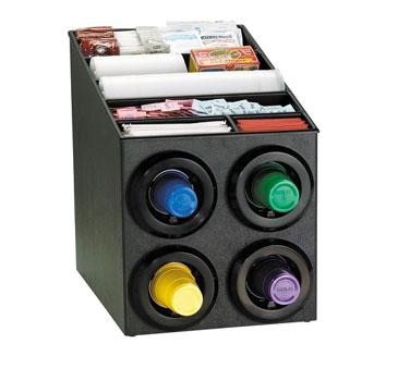 Dispense-Rite STL-SL-2X2BT cup dispensers, countertop