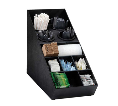 Dispense-Rite SWCH-1BT condiment caddy, countertop organizer