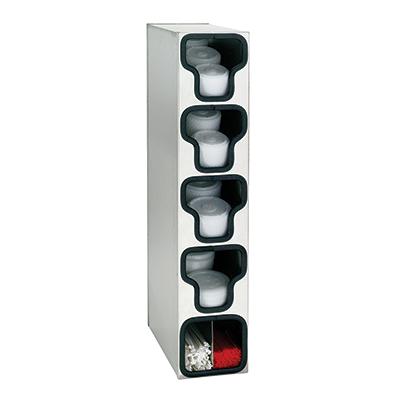 Dispense-Rite TLO-4SS lid dispenser, countertop