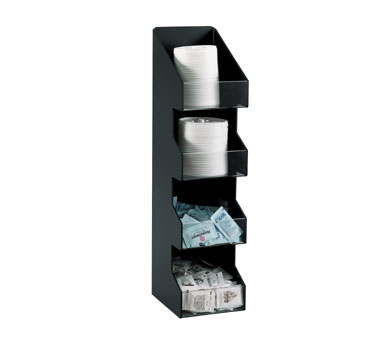 Dispense-Rite VCO-4 condiment caddy, countertop organizer