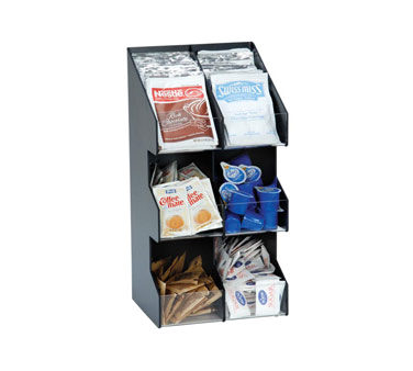 Dispense-Rite VCO-6 condiment caddy, countertop organizer