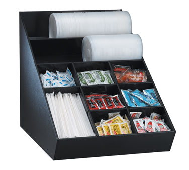 Dispense-Rite WLO-1B condiment caddy, countertop organizer
