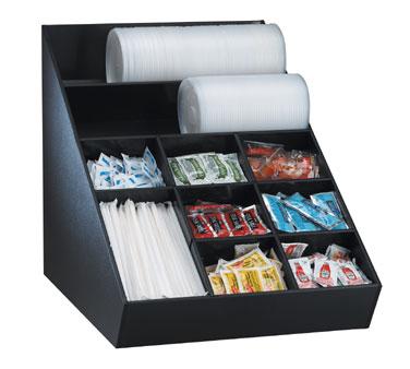 Dispense-Rite WLO-1B condiment caddy, countertop organizer