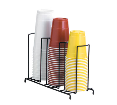 Dispense-Rite WR-3 cup & lid organizer