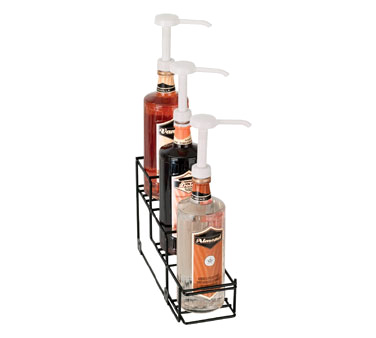 Dispense-Rite WR-BOTL-3 liquor bottle display, countertop