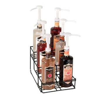 Dispense-Rite WR-BOTL-6 liquor bottle display, countertop