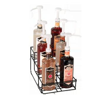 Dispense-Rite WR-BOTL-6 liquor bottle display, countertop