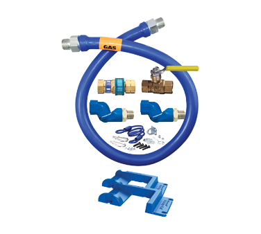 Dormont Manufacturing 16100KIT2S60PS gas connector hose kit