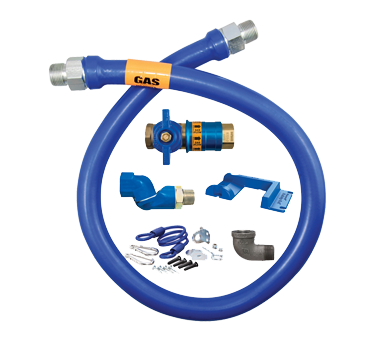 Dormont Manufacturing 16100KITCFS48PS gas connector hose kit