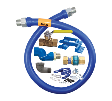 Dormont Manufacturing 16100KITS60PS gas connector hose kit
