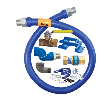 Dormont Manufacturing 1650KITS60PS gas connector hose kit