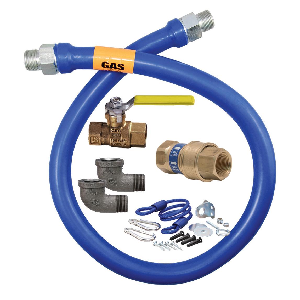 Dormont Manufacturing 1675KITB2S48 gas connector hose kit