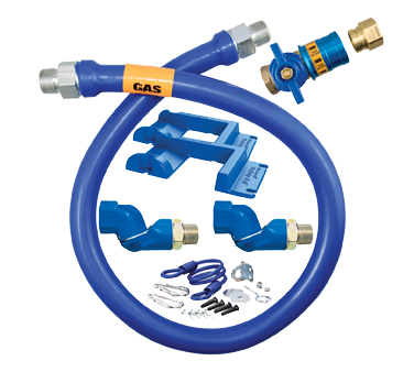 Dormont Manufacturing 1675KITCF2S48PS gas connector hose kit