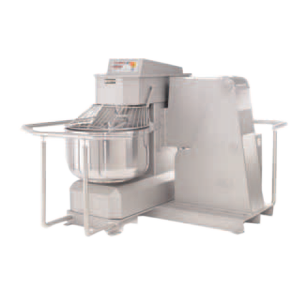 Doyon Baking Equipment AR150XBI mixer, spiral dough