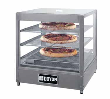 Doyon Baking Equipment DRP3 display case, hot food, countertop