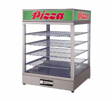 Doyon Baking Equipment DRP4 display case, hot food, countertop
