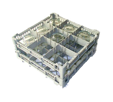 Eurodib USA CC00121 dishwasher rack, glass compartment