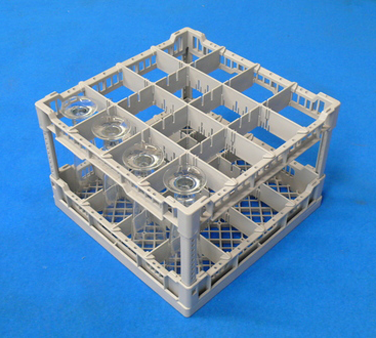 Eurodib USA CC00125 dishwasher rack, glass compartment