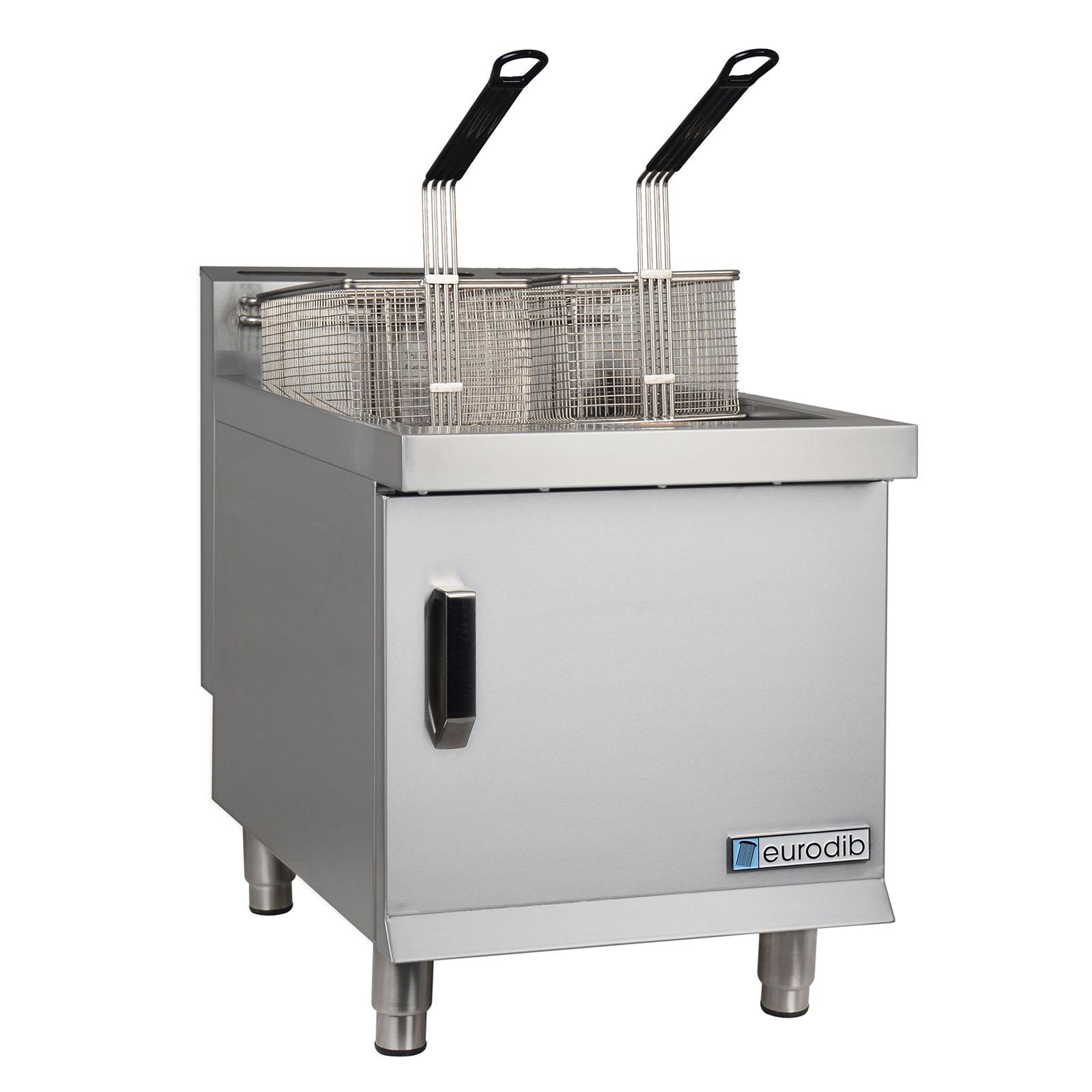 Eurodib USA CF30L fryer, gas, countertop, full pot