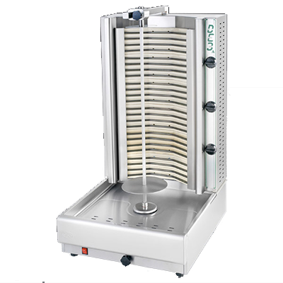 Eurodib USA DE3A vertical broiler (gyro), electric