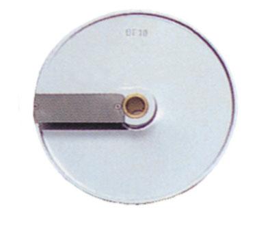 Eurodib USA DF10 food processor, disc plate, slicing