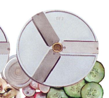 Eurodib USA DF2 food processor, disc plate, slicing