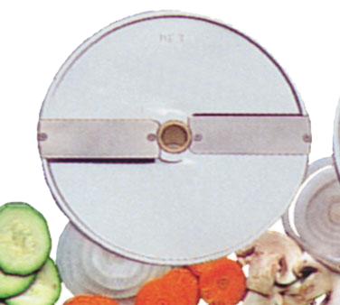 Eurodib USA DF3 food processor, disc plate, slicing