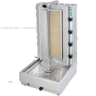 Eurodib USA DG10A vertical broiler (gyro), gas
