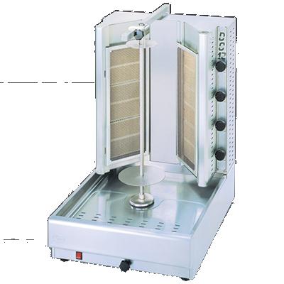 Eurodib USA DG12V vertical broiler (gyro), gas