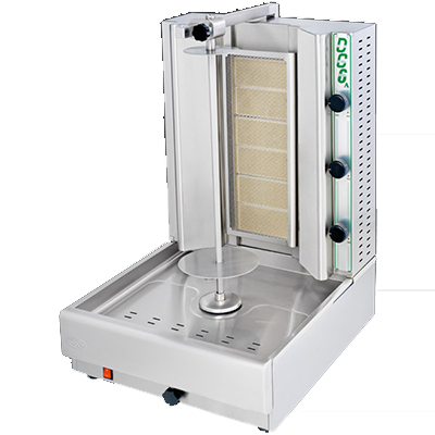 Eurodib USA DG6A vertical broiler (gyro), gas
