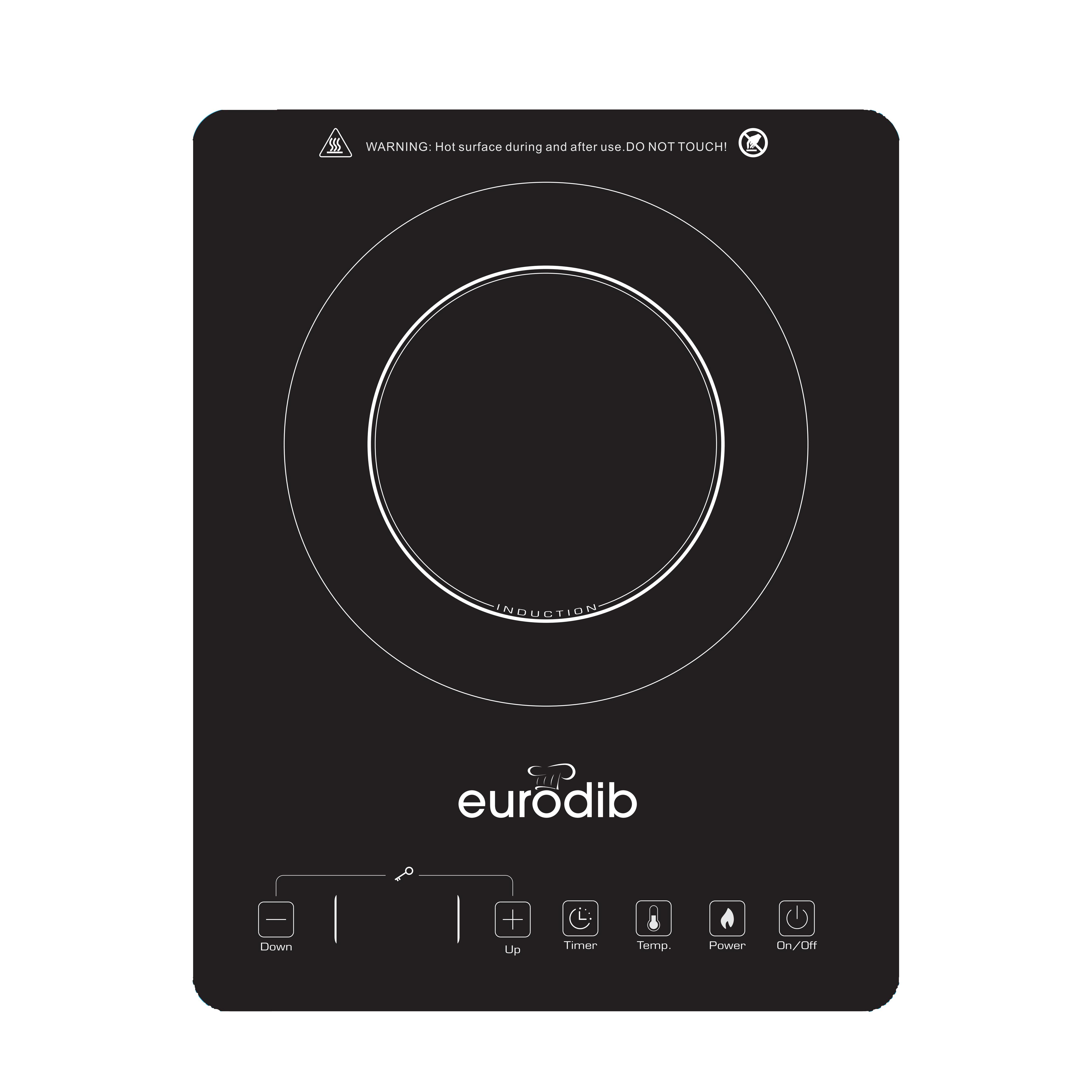 Eurodib USA EG13 induction range, countertop