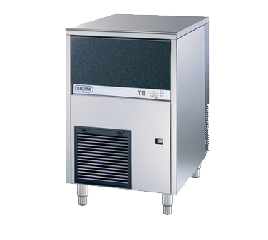Eurodib USA TB852A ice maker with bin, nugget-style