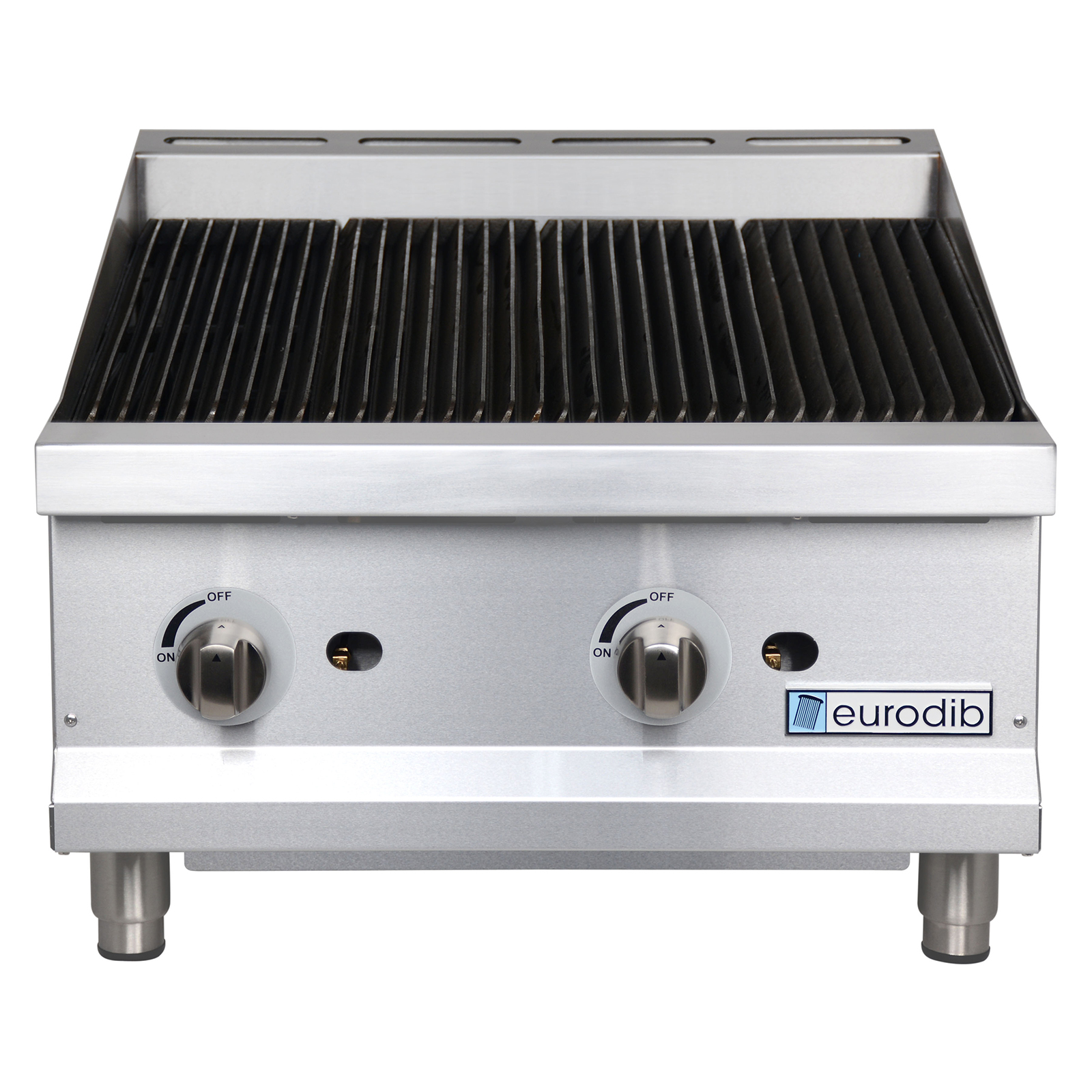 Eurodib USA T-CBR24 charbroiler, gas, countertop