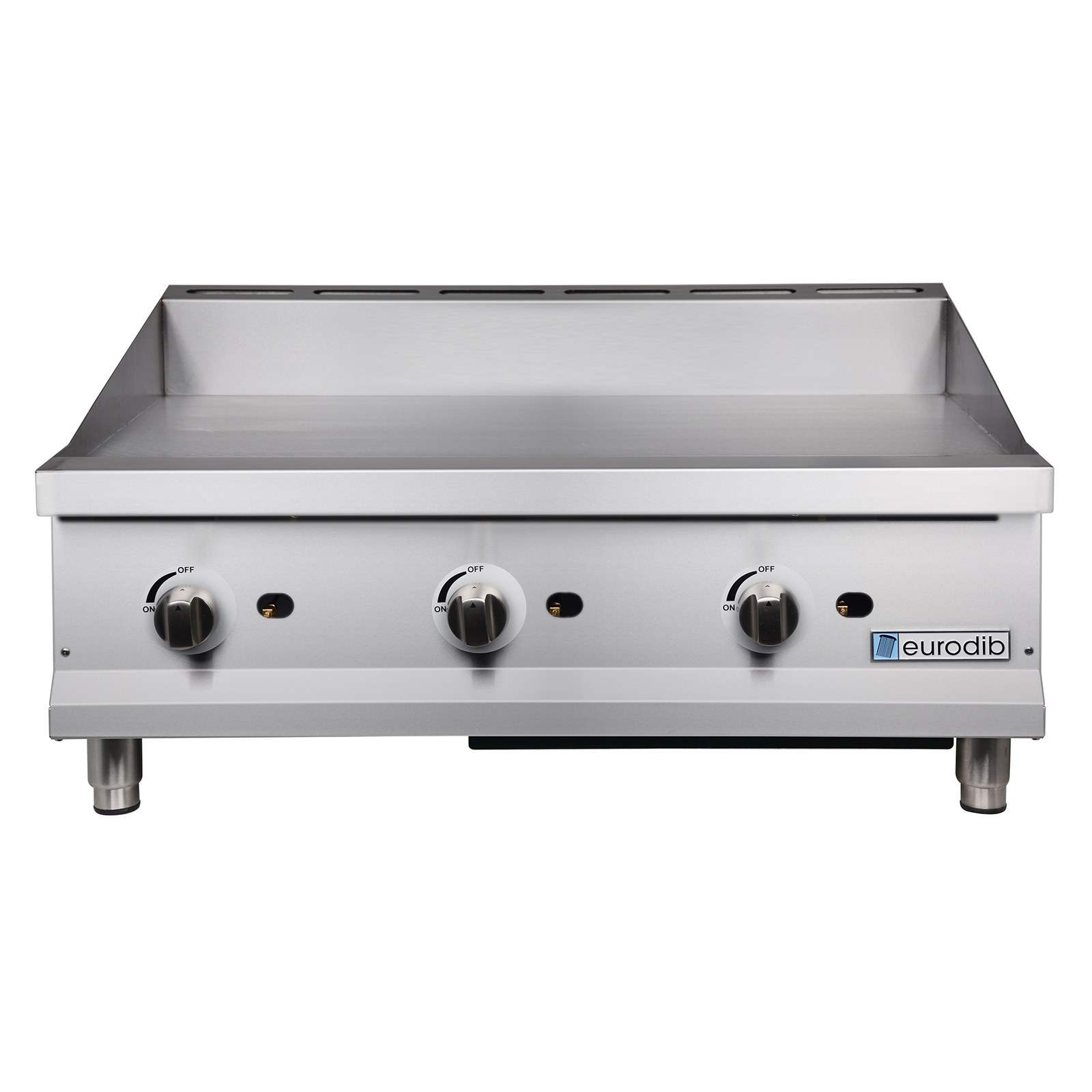 Eurodib USA T-G36 griddle, gas, countertop