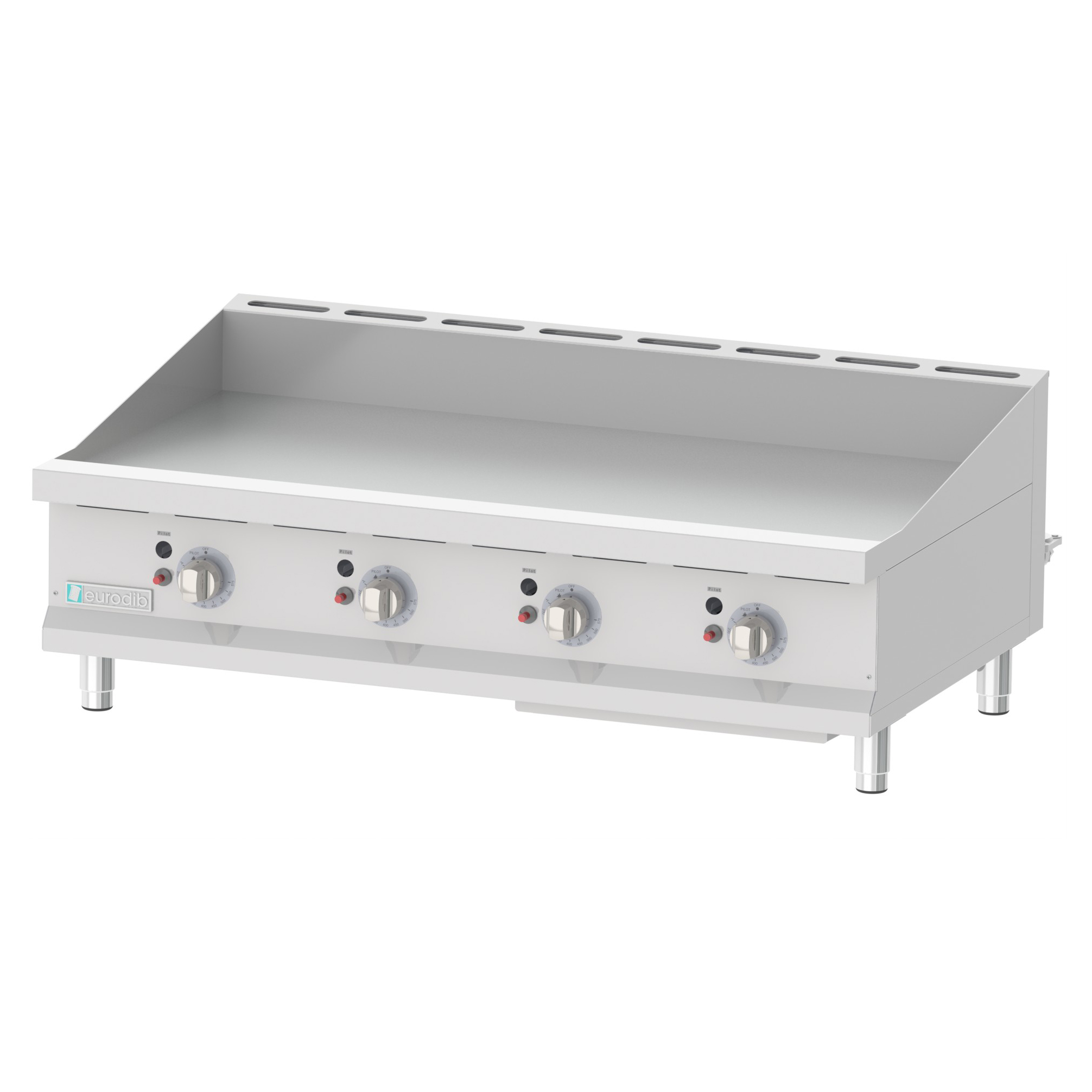 Eurodib USA T-G48T griddle, gas, countertop